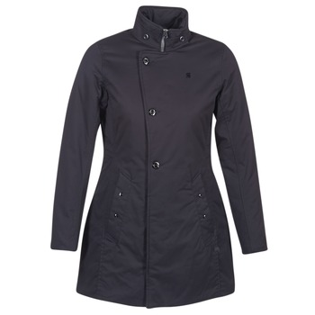 Textiel Dames Parka jassen G-Star Raw MINOR CLASSIC PADDED SLIM COAT Zwart
