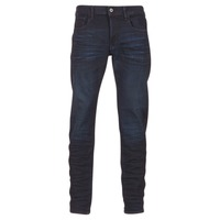 Textiel Heren Straight jeans G-Star Raw 3301 DECONSTRUCTED SLIM Blauw