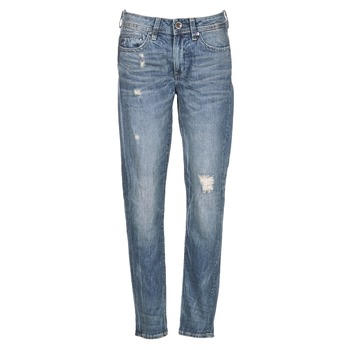 Textiel Dames Boyfriend jeans G-Star Raw MIDGE SADDLE BOYFRIEND WMN Blauw