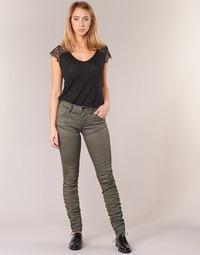 Textiel Dames Skinny Jeans G-Star Raw 5620 STAQ 3D MID SKINNY COJ WMN Kaki