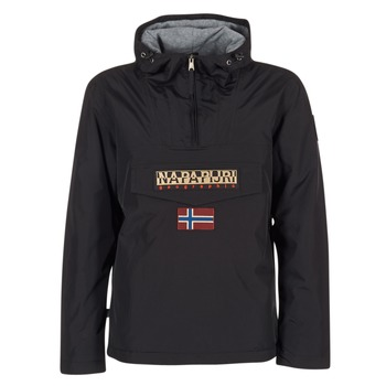 Textiel Heren Parka jassen Napapijri RAINFOREST Zwart