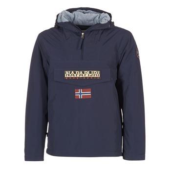 Textiel Heren Parka jassen Napapijri RAINFOREST Marine