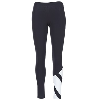 Textiel Dames Leggings adidas Originals EQT LEGGINGS Zwart / Wit