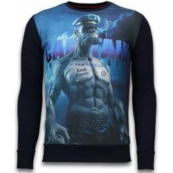 Textiel Heren Sweaters / Sweatshirts Local Fanatic The Sailor Man - Digital Rhinestone Sweater 38