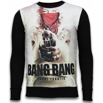 Textiel Heren Sweaters / Sweatshirts Local Fanatic Monroe Bang Bang - Digital Rhinestone Sweater 38