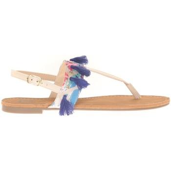 Schoenen Dames Sandalen / Open schoenen Cassis Côte d'Azur Ella entre doigt bridées et Pompons Beige Beige