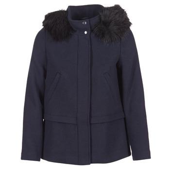 Textiel Dames Mantel jassen Esprit CARDA Marine