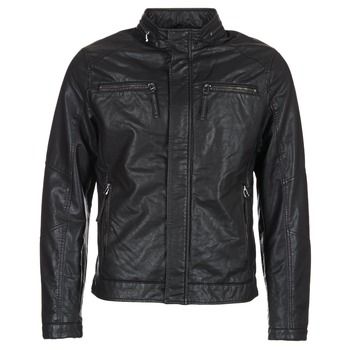 Textiel Heren Leren jas / kunstleren jas Esprit VARDA Zwart