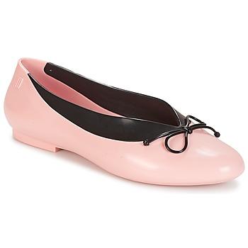 Schoenen Dames Ballerina's Melissa JUST DANCE Roze / Zwart