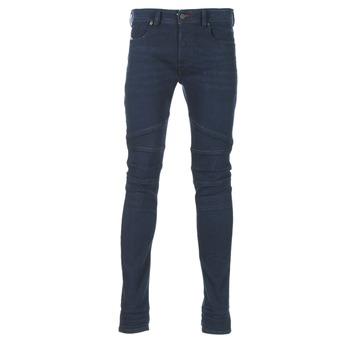 Textiel Heren Skinny jeans Diesel FOURK Blauw / 84hr