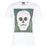 Textiel Heren T-shirts korte mouwen Diesel JOE QM Wit