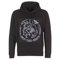 Textiel Heren Sweaters / Sweatshirts Diesel ALBERT Zwart