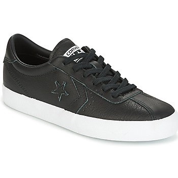 Schoenen Dames Lage sneakers Converse BREAKPOINT FOUNDATIONAL LEATHER OX BLACK/BLACK/WHITE Zwart / Wit
