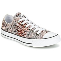 Schoenen Dames Lage sneakers Converse CHUCK TAYLOR ALL STAR FASHION SNAKE OX BROWN/BLACK/WHITE