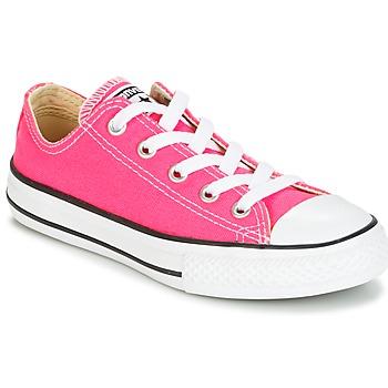 Schoenen Meisjes Lage sneakers Converse CHUCK TAYLOR ALL STAR SEASONAL OX PINK POW Roze