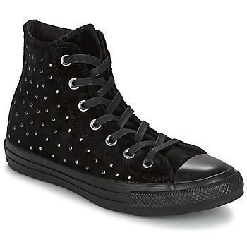 Schoenen Dames Hoge sneakers Converse CHUCK TAYLOR ALL STAR HI Zwart