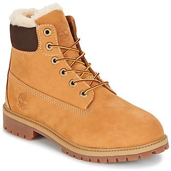 Schoenen Kinderen Laarzen Timberland 6 IN PRMWPSHEARLING LINED Bruin