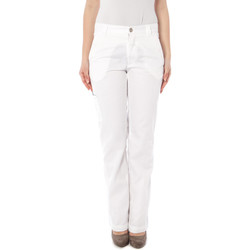 Textiel Dames 5 zakken broeken Killah JH09 NYNEX-TWO Trousers Women white 0001 white 0001