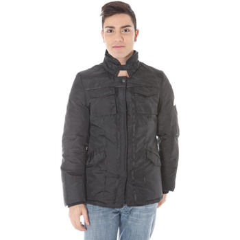 parka jassen Enrico Coveri  SHINY Jacket Men black BLACK