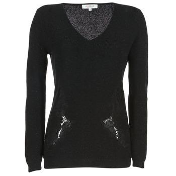 Textiel Dames Truien Morgan MDAN Zwart