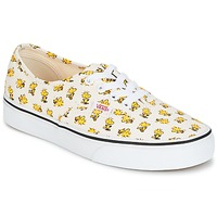 Schoenen Lage sneakers Vans AUTHENTIC SNOOPY Wit / Geel