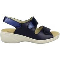 Schoenen Dames Sandalen / Open schoenen Comfort Class PLANTILLA EXTRAIBLE MARINO