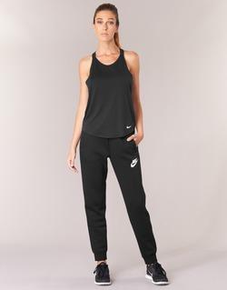 Textiel Dames Trainingsbroeken Nike RALLY PANT Zwart / Wit