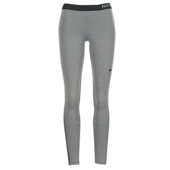 Textiel Dames Leggings Nike NIKE PRO TIGHT Grijs / Zwart