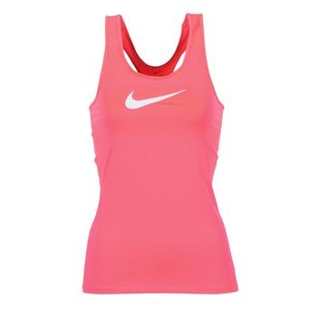 Textiel Dames Mouwloze tops Nike NIKE PRO COOL TANK Roze / Wit