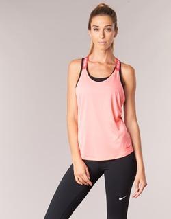 Textiel Dames Mouwloze tops Nike NIKE DRY TANK ELASTIKA Roze / Rood