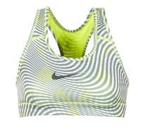 Textiel Dames Sport BH's Nike NIKE PRO CLASSIC BRA Geel / Grijs