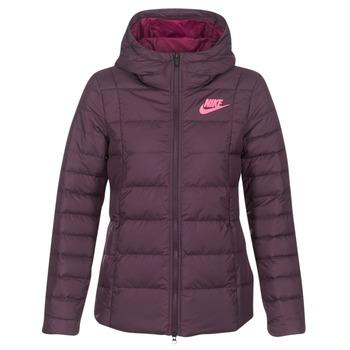 Textiel Dames Dons gevoerde jassen Nike DOWN FILL JKT Bordeau / Roze