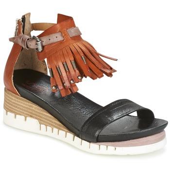 Schoenen Dames Sandalen / Open schoenen Airstep / A.S.98 YVES Bruin / Zwart