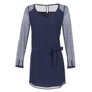 Textiel Dames Korte jurken Les P'tites Bombes MALIS Marine