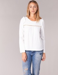 Textiel Dames Tops / Blousjes Betty London HAMONE Ecru
