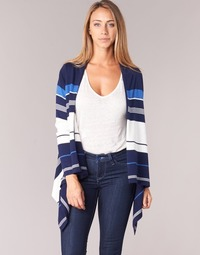 Textiel Dames Vesten / Cardigans Casual Attitude HARINE Marine / Wit