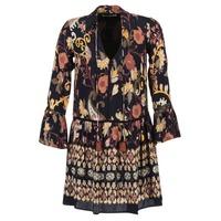 Textiel Dames Korte jurken Derhy DEGUSTATION Zwart / Multi