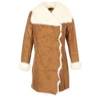 Textiel Dames Mantel jassen Derhy RADEAU Camel