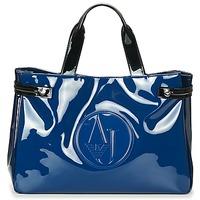 Tassen Dames Handtassen kort hengsel Armani jeans TAUTAL Blauw