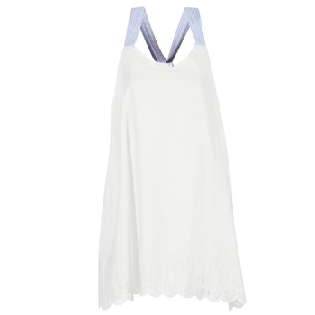 Textiel Dames Korte jurken Betty London GRAMA Ecru