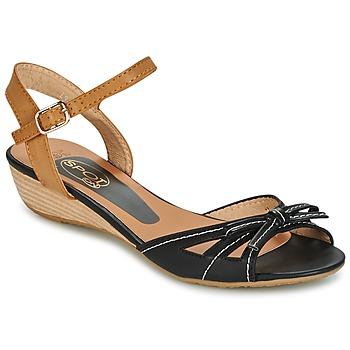 Schoenen Dames Sandalen / Open schoenen Spot on  Zwart