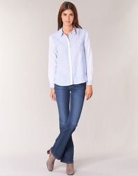 Textiel Dames Bootcut jeans Pepe jeans PIMLICO Ca0 / Blauw / Brut
