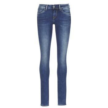 Textiel Dames Skinny Jeans Pepe jeans SOHO Z63 / Blauw / Medium