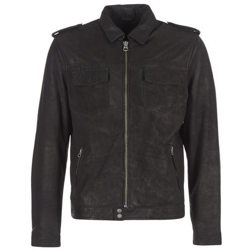 Textiel Heren Leren jas / kunstleren jas Pepe jeans NARCISO Zwart