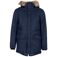 Textiel Heren Parka jassen Jack & Jones LAND CORE Marine
