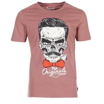 Textiel Heren T-shirts korte mouwen Jack & Jones CRIPTIC ORIGINALS Roze