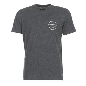 Textiel Heren T-shirts korte mouwen Jack & Jones ORGANIC ORIGINALS Grijs