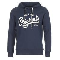 Textiel Heren Sweaters / Sweatshirts Jack & Jones HAWL ORIGINALS Marine