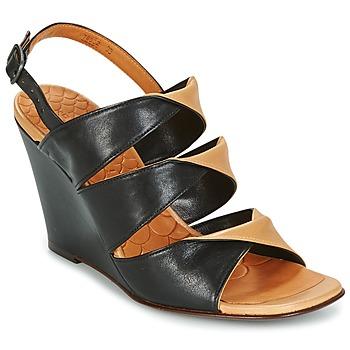 Schoenen Dames Sandalen / Open schoenen Chie Mihara CRUSH Zwart