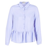 Textiel Dames Tops / Blousjes Betty London HALONI Blauw